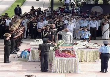 Atal Bihari Vajpayee's funeral live updates: Mortal remains reach Smriti Sthal, last rites shortly