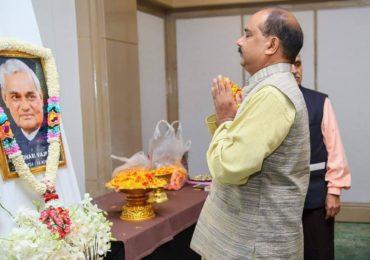 VHP Association Thailand paid tribute to Bharat Ratn Late Shri Atal Bihari Vajpayee