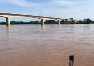 Mekong River rising again in Nong Khai province
