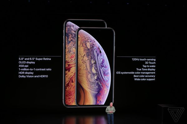 iPhone XS and 6.5-inch XS Max announced