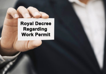 Royal Decree regarding Work Permit matters