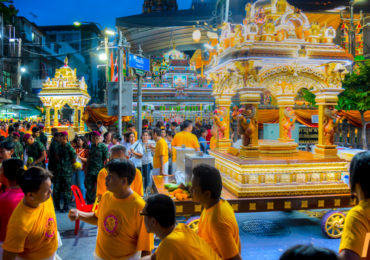 Dussehra festival celebrated in Bangkok, Thailand