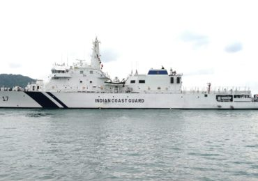 Indian Coast Guard Ships visit Phuket