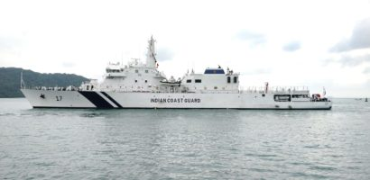 Indian Coast Guard Ships visit Phuket
