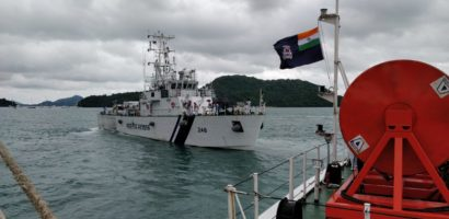 Indian Coast Guard Ships depart Thailand
