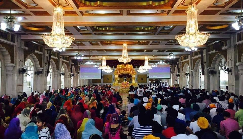 Thousands of devotees attended the Gurpurab celebrations in Bangkok