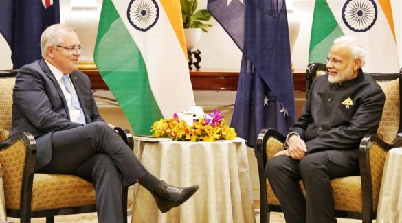 East Asia Summit 2018: PM Narendra Modi meets Australian counterpart Scott Morrison in Singapore