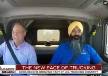 Sikh Man Establishes Gurdwara at His Truck Stop in America