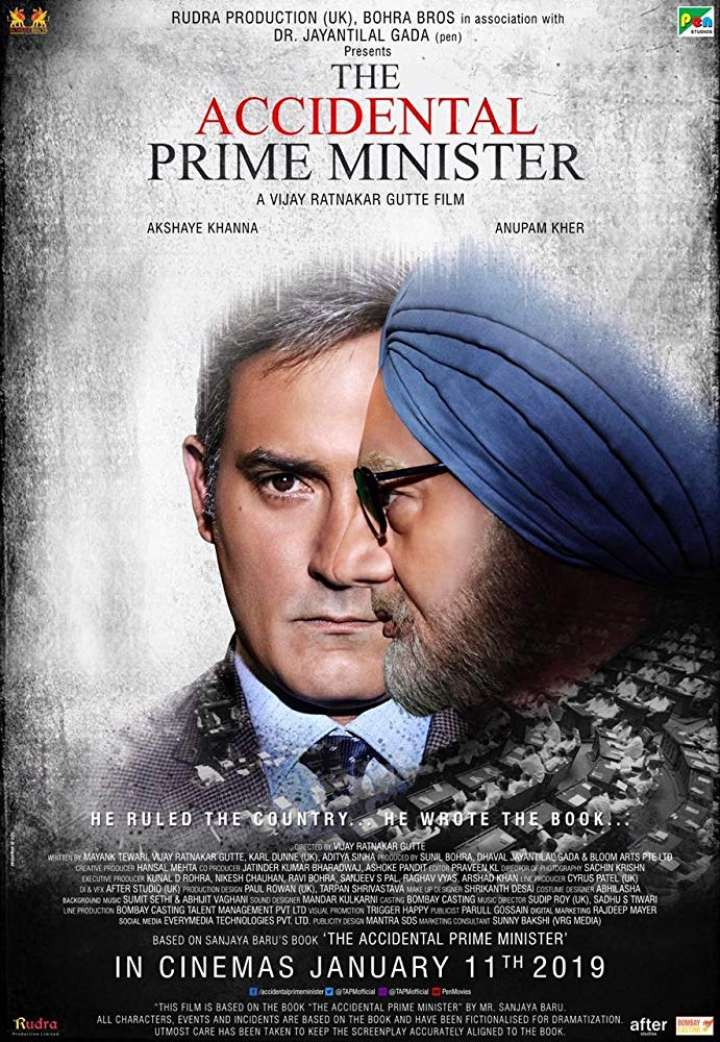 """The Accidental Prime Minister"" releasing on January 11th 2019 at  ICONSIAM, Major Ekamai, Rama 3 & Pattaya"