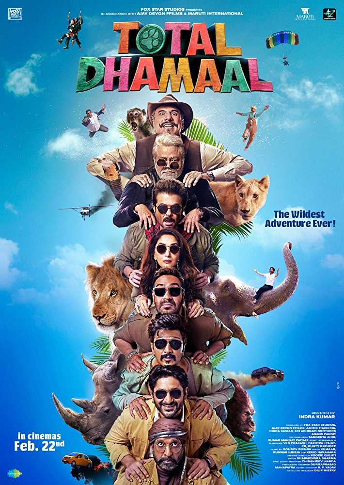 """Total Dhamaal"" releasing on 22nd Feb, 2019 at ICONSIAM, EmQuartier, Major Ekamai, & Pattaya"