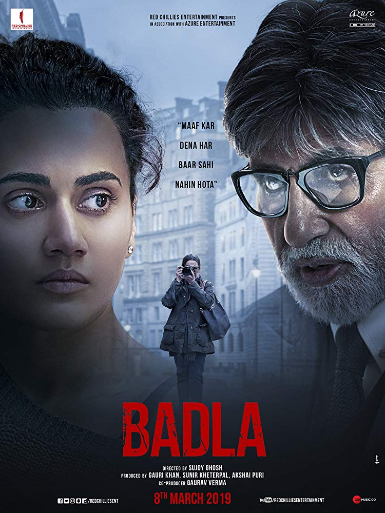 """Badla"" releasing 8th March, 2019 at ICONSIAM, EmQuartier, Major Ekamai, & Pattaya"