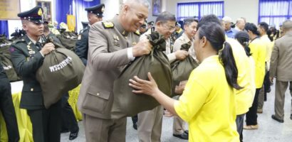 HM King grants relief kits to disaster victims in Tak