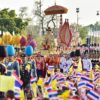 The royal procession on 5th May 2019