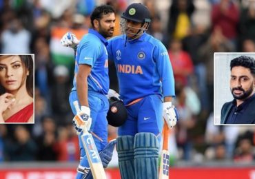 ICC World Cup 2019: Sushmita Sen, Abhishek Bachchan and other Bollywood stars congratulate Rohit Sharma and Team India on emphatic win over South Africa