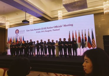 East Asia Summit (EAS) Senior Official's Meeting  30th July 2019, Bangkok Thailand