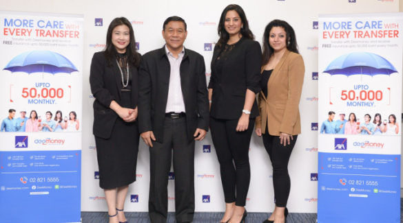 DeeMoney partners with AXA to offer free insurance to vulnerable underserved foreign population working and living in Thailand